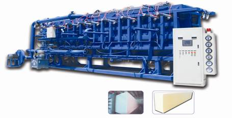 EPS Automatic Air Cooling Block Molding Machine(PSB-Q2000-8000)