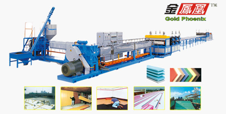 Production Line for Plastic Extruding Machine
