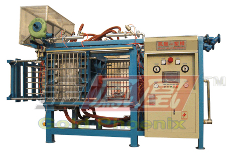 Automatic lighted moulding machine